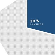 savings 30percent